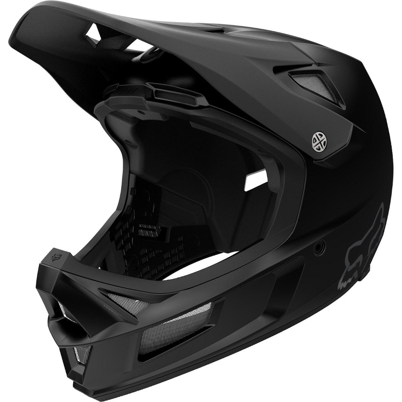 FOX Rampage Comp Matte Black Fullface Helmet - black
