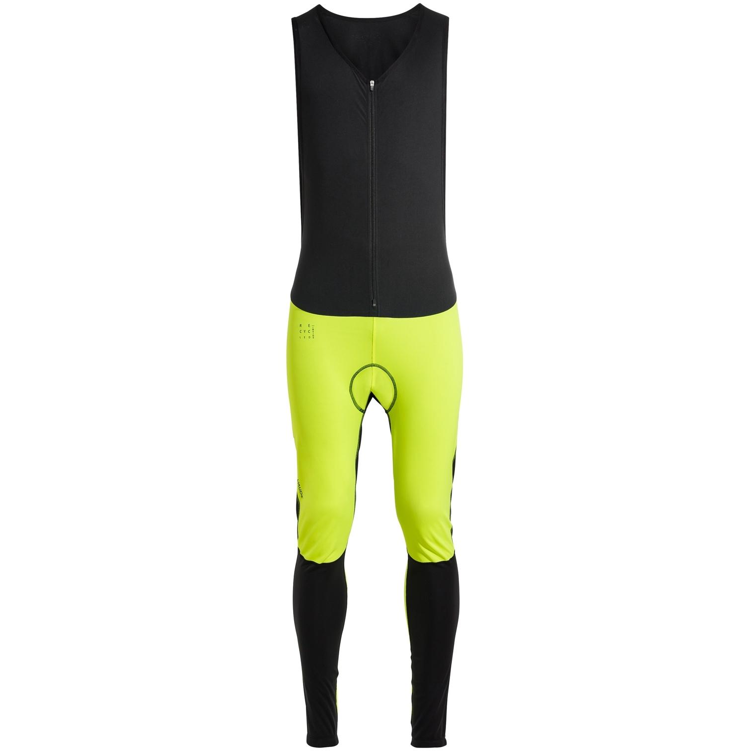 Vaude Posta Warm Trägerhose - neon yellow