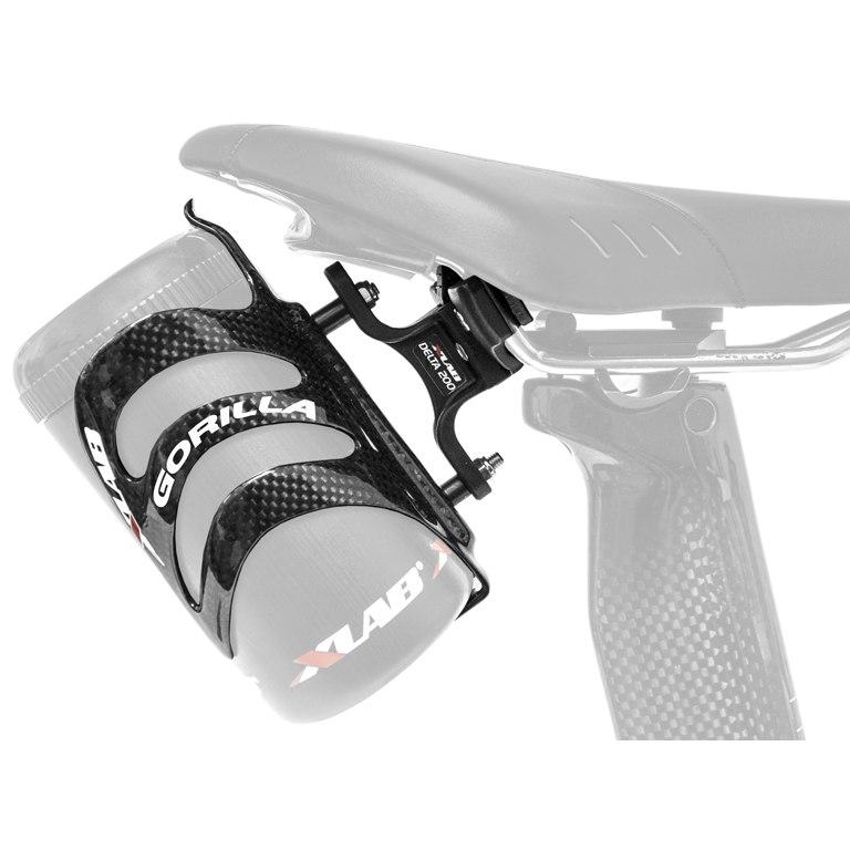 Bild von XLAB Delta 200 Adapter + Gorilla Carbon Flaschenhalter - Carbon