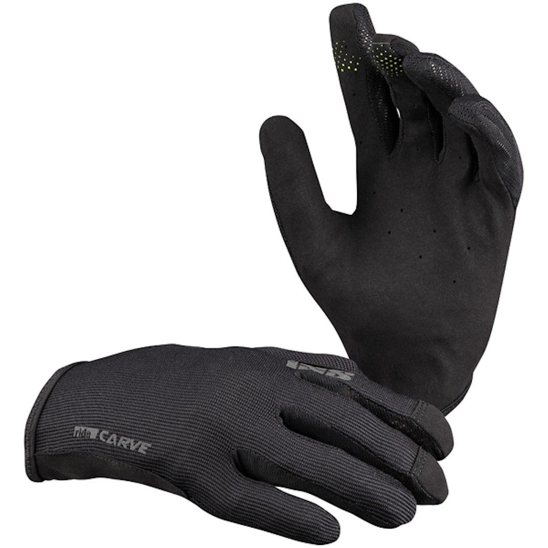 iXS Carve Kinder-Handschuhe - black
