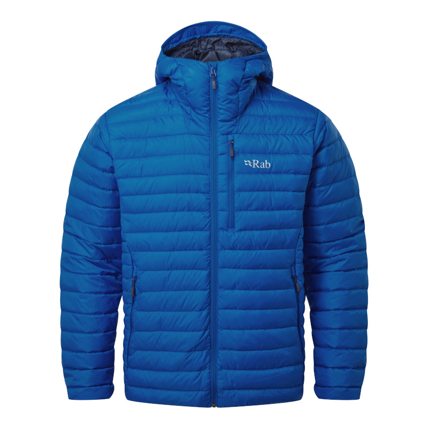 Rab Microlight Alpine Daunenjacke - polar blue