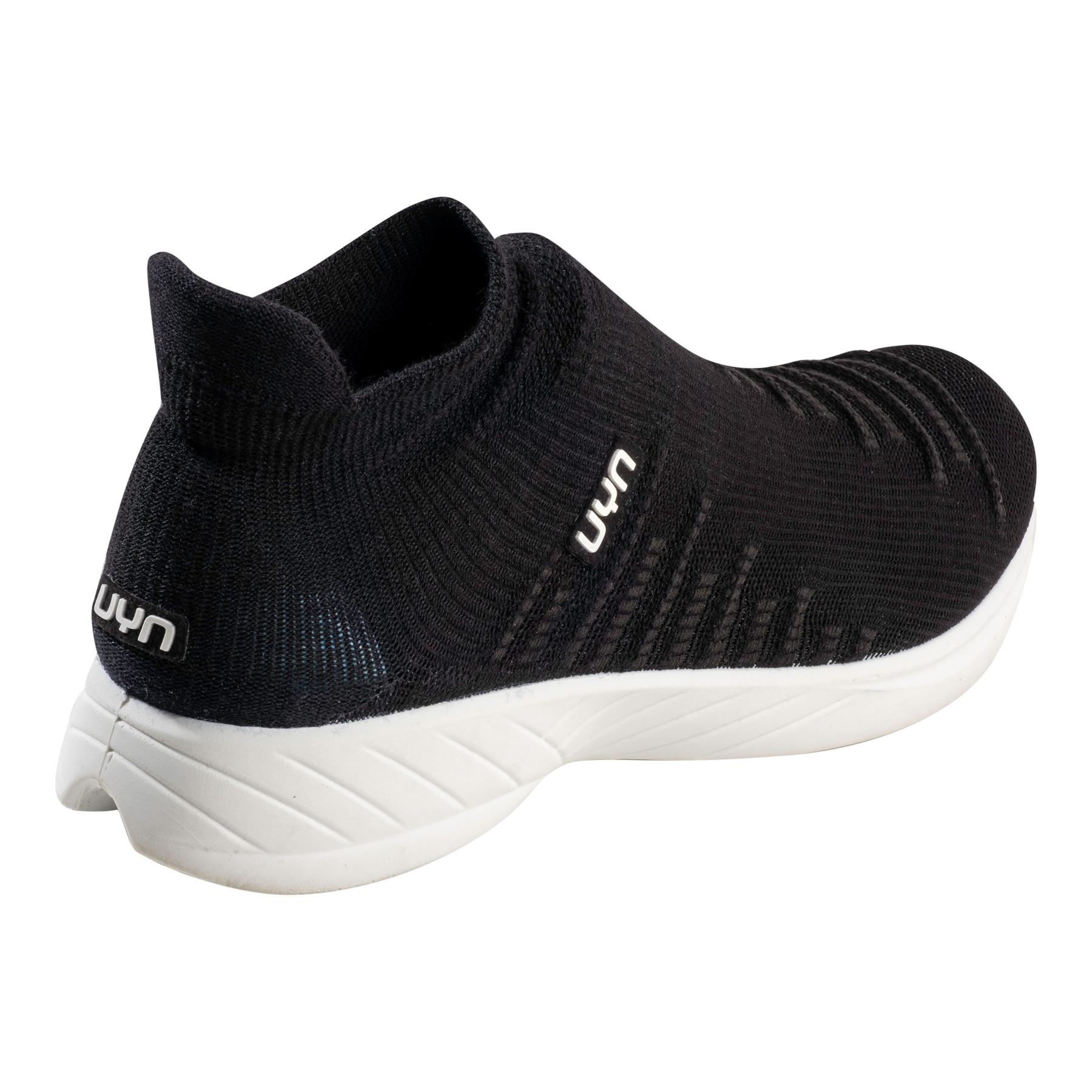Image of UYN X-Cross Running Shoes - Optical Black/Black
