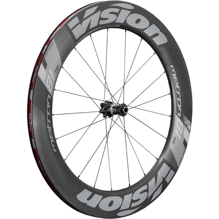 Bild von Vision Metron 81 SL Disc Carbon Laufradsatz - Drahtreifen - 6-Loch - VR: 12/15x100mm/QR | HR: 12x135/142mm/QR