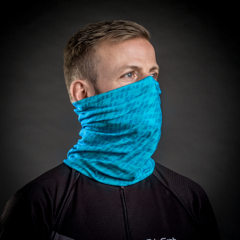Image of GripGrab Multifunctional Neck Warmer - Blue