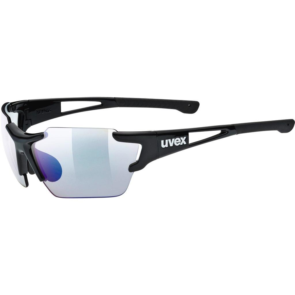 Uvex sportstyle 803 race vm small - black/variomatic litemirror-blue Glasses