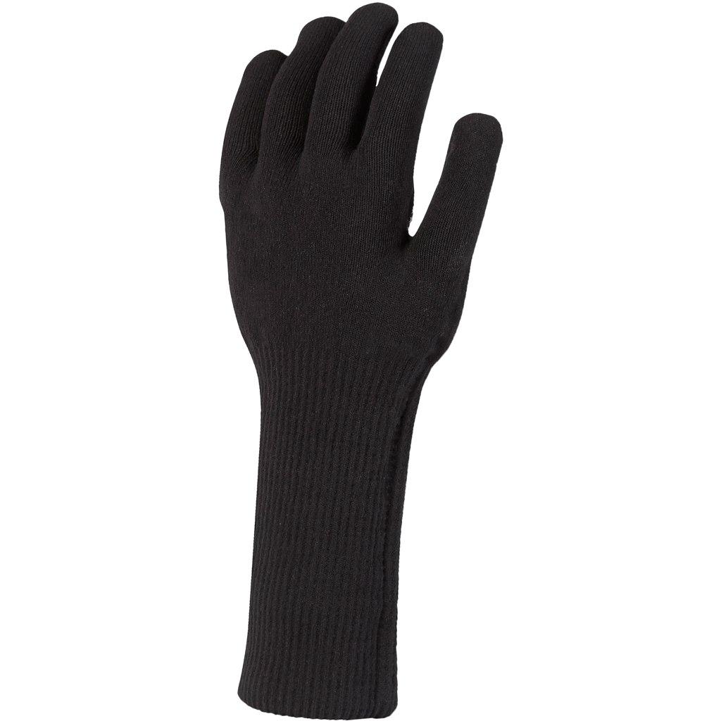 Foto de SealSkinz Waterproof All Weather Ultra Grip Knitted Guantes sin dedos - Black