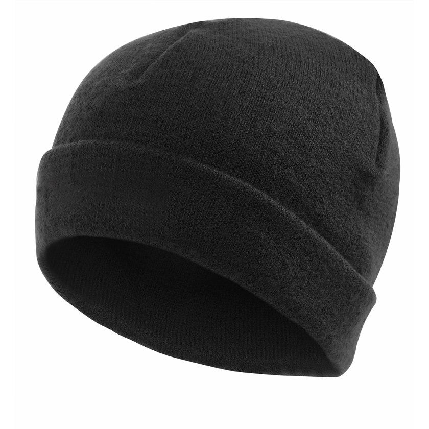 Woolpower Cap 400 Mütze - schwarz