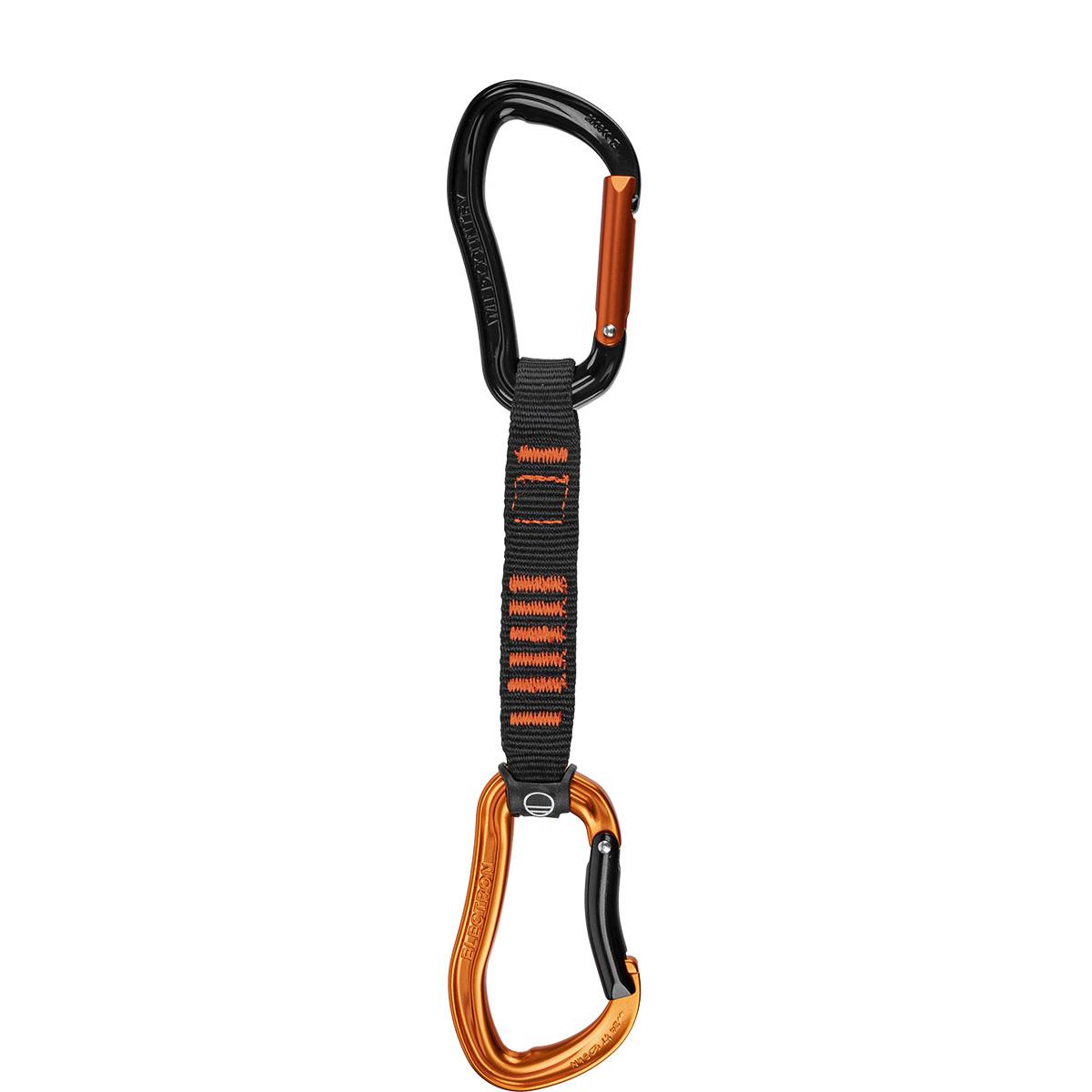 Wild Country Electron Sport Draw Express-Set 12 cm - Orange/Black