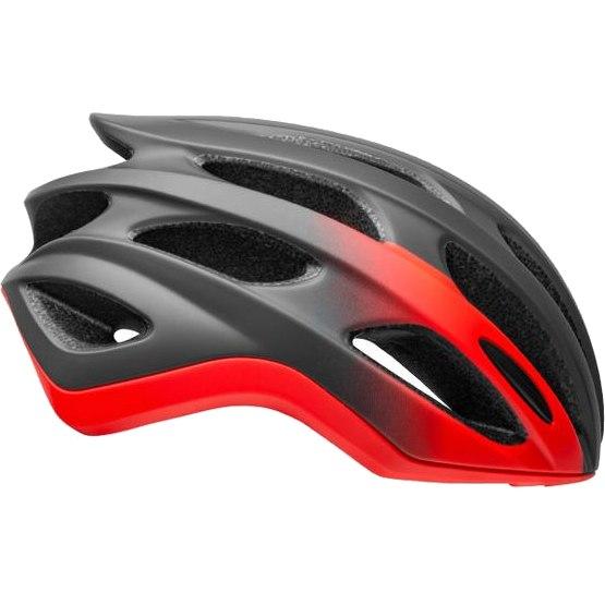 Bell Formula Helmet - matte/gloss gray/infrared