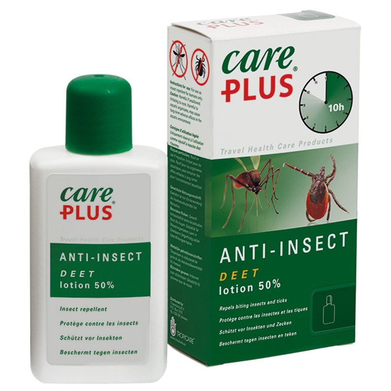 Care Plus Anti-Insect - Deet 50% Lotion - 50ml
