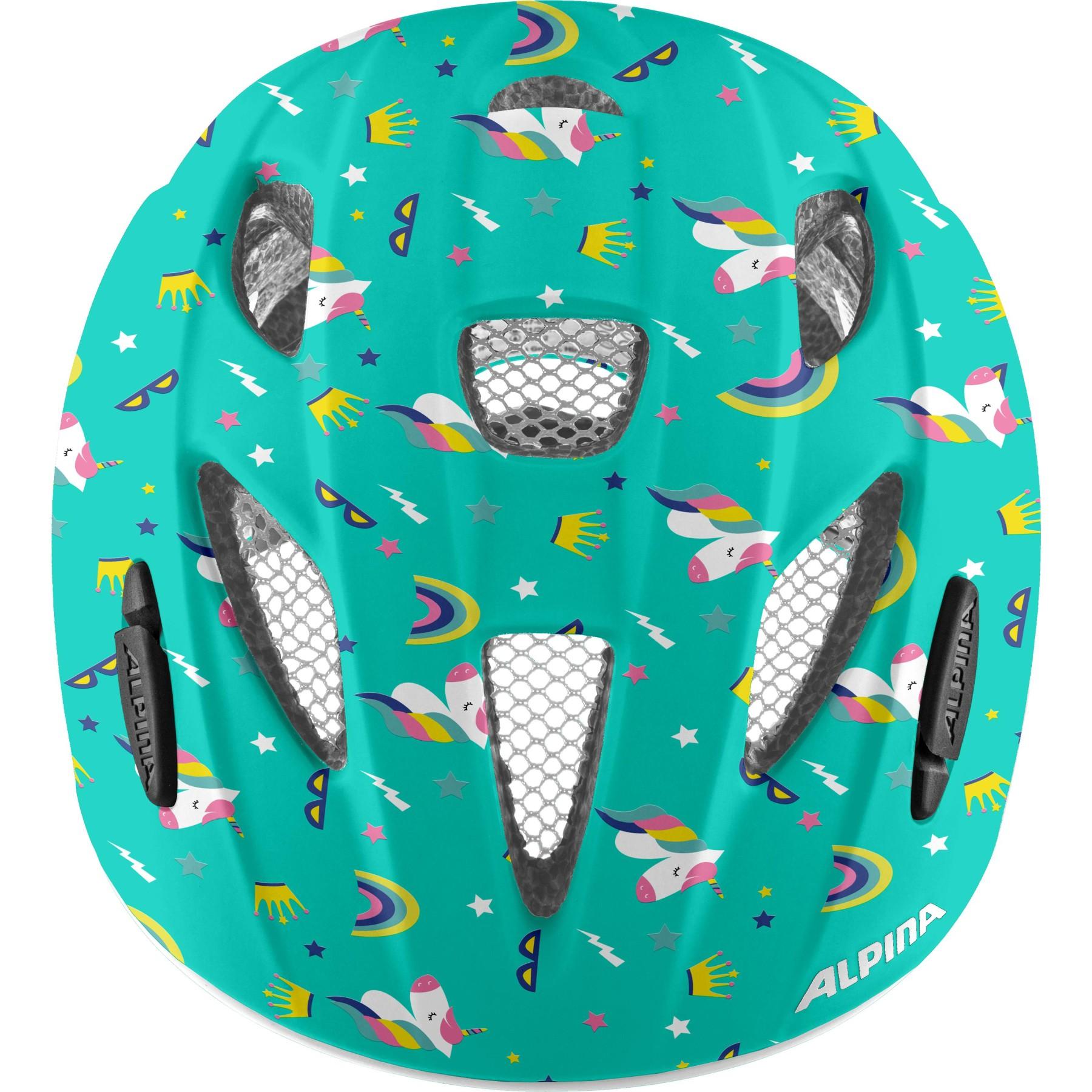 Image of Alpina Ximo Flash Kids Helmet - unicorn gloss