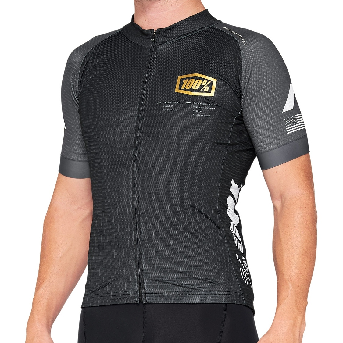 100% Exceeda Maillot - black/charcoal