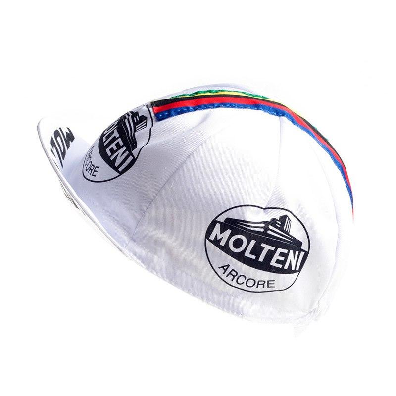 Image of Apis Retro Style Team Cycling Cap - MOLTENI