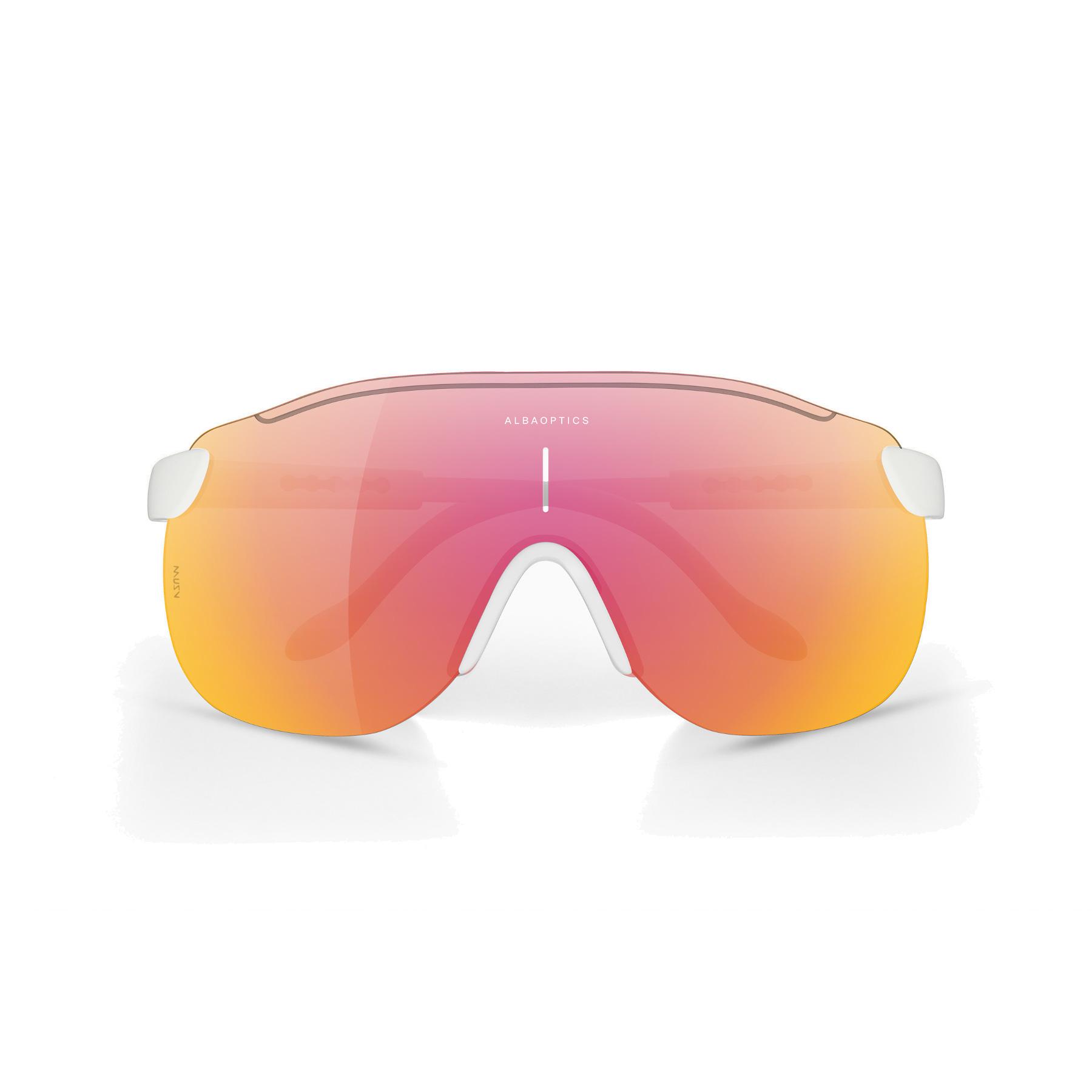 ALBA Stratos White / ML LAVA Glasses
