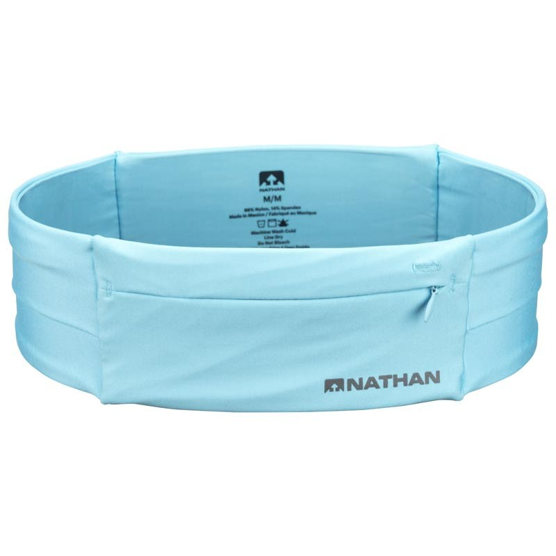 Image of Nathan Sports The Zipster Belt - Blue Radiance