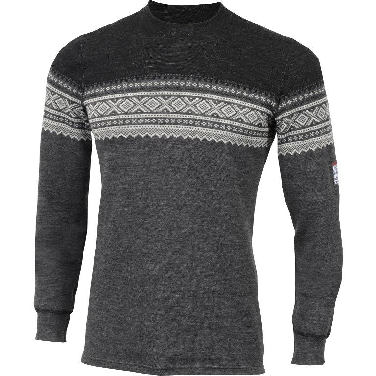 Aclima Designwool Marius Crew Neck Longsleeve Shirt - norefjell