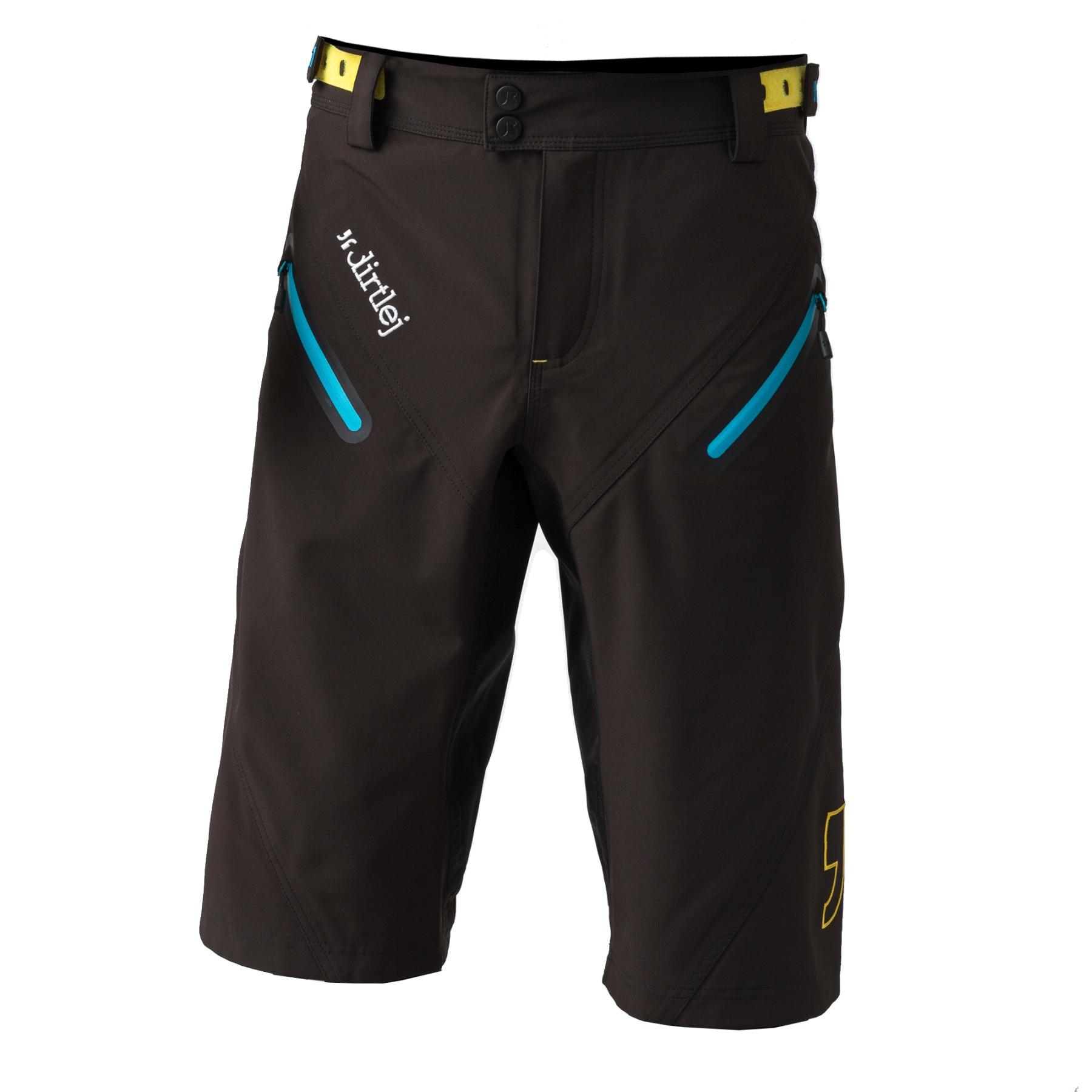 Foto de Dirtlej Trailscout Waterproof Pantalones para Hombres - black/blue