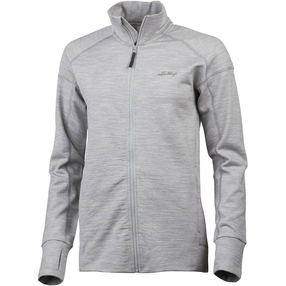 Lundhags Ullto Merino Full Zip Women's Jacket - Light Grey 829
