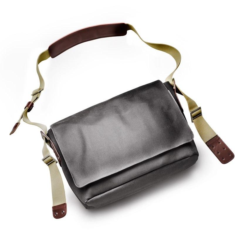 Brooks Barbican Shoulder Bag - grey
