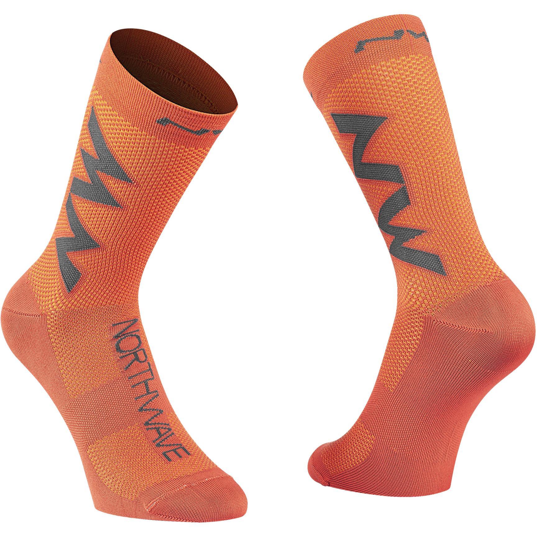 Produktbild von Northwave Extreme Air Socken - Siena Orange