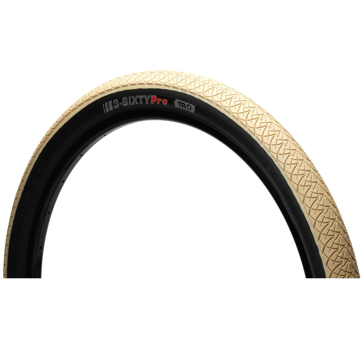 """Kenda 3-Sixty Pro TR MTB Folding Tire - 26x2.25"""" - tan"""