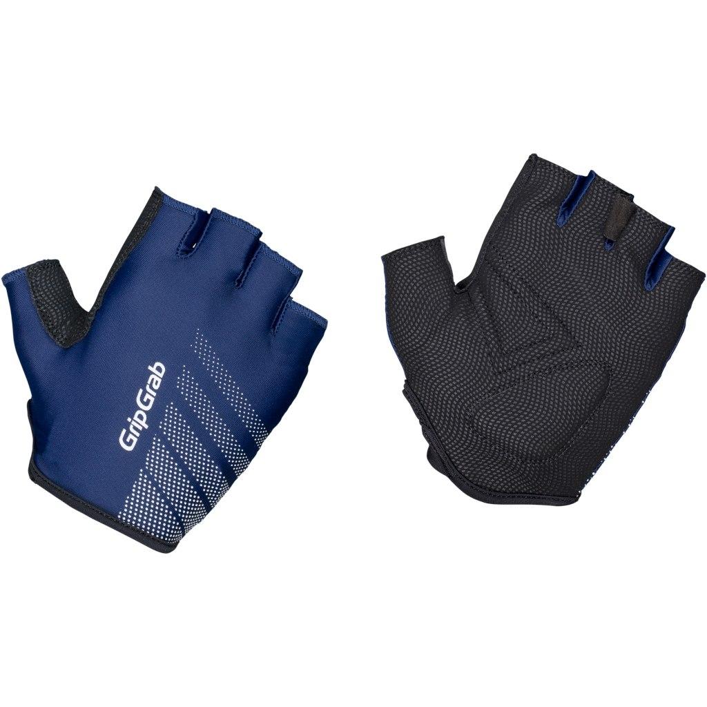 GripGrab Ride Lightweight Padded Short Finger Glove - Navy Blue