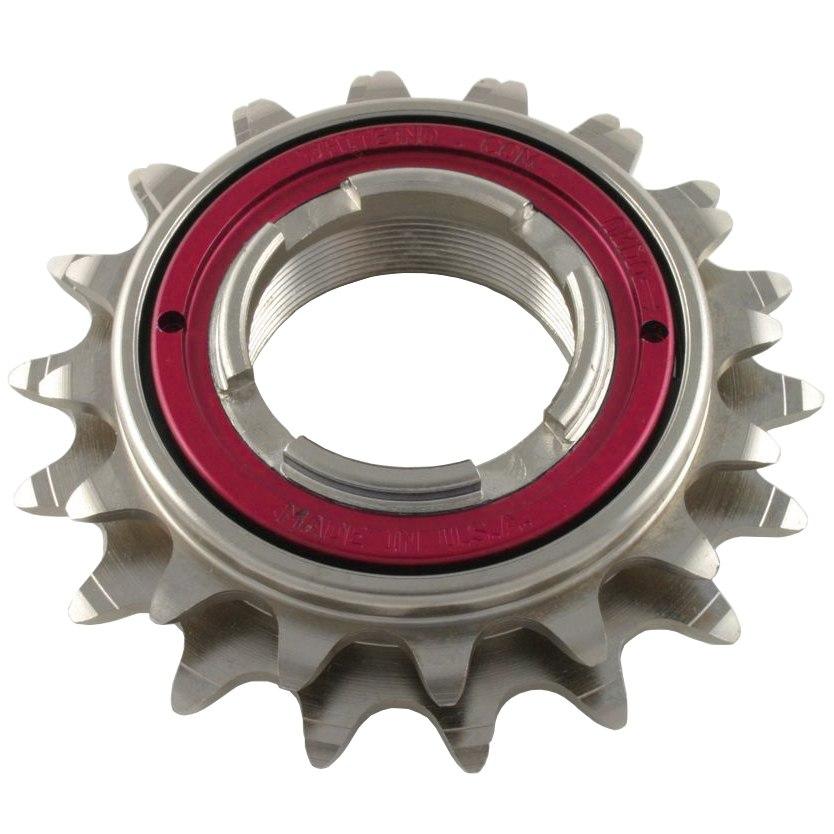 White Industries DOS ENO Freewheel 17/19 teeth - red locking ring