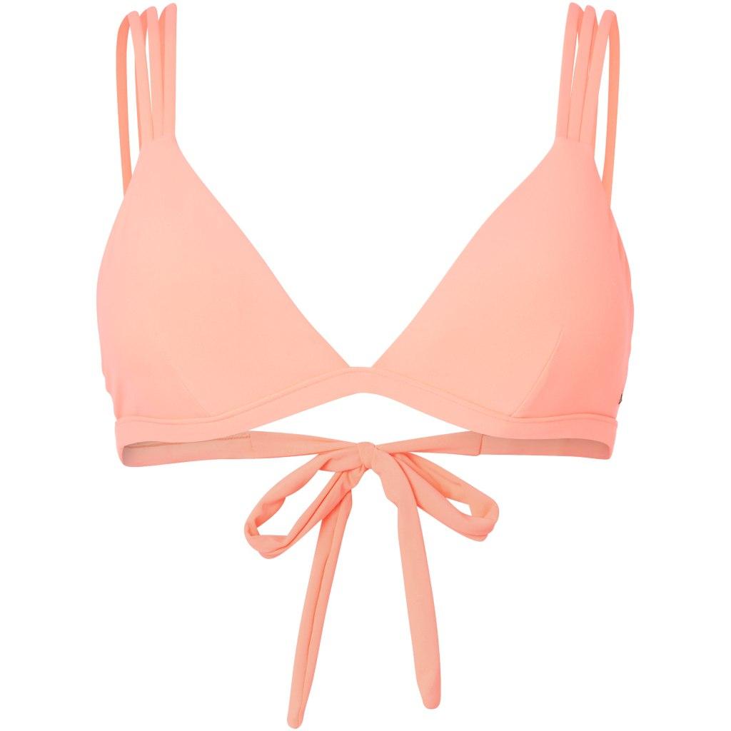 O'Neill Sun Mix Women's Bikini Top - Neon Peach