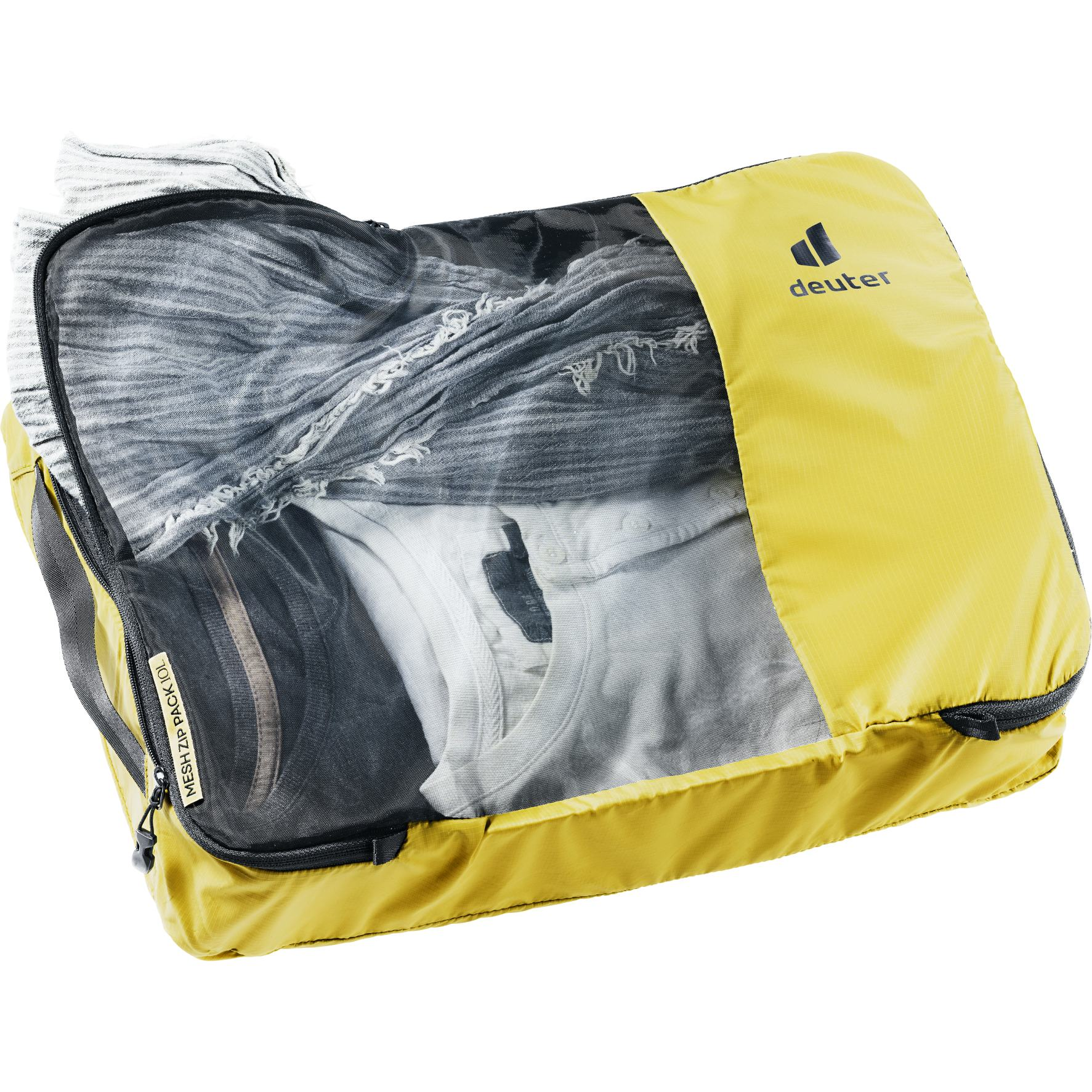Image of Deuter Mesh Zip Pack 10 liters - turmeric-black
