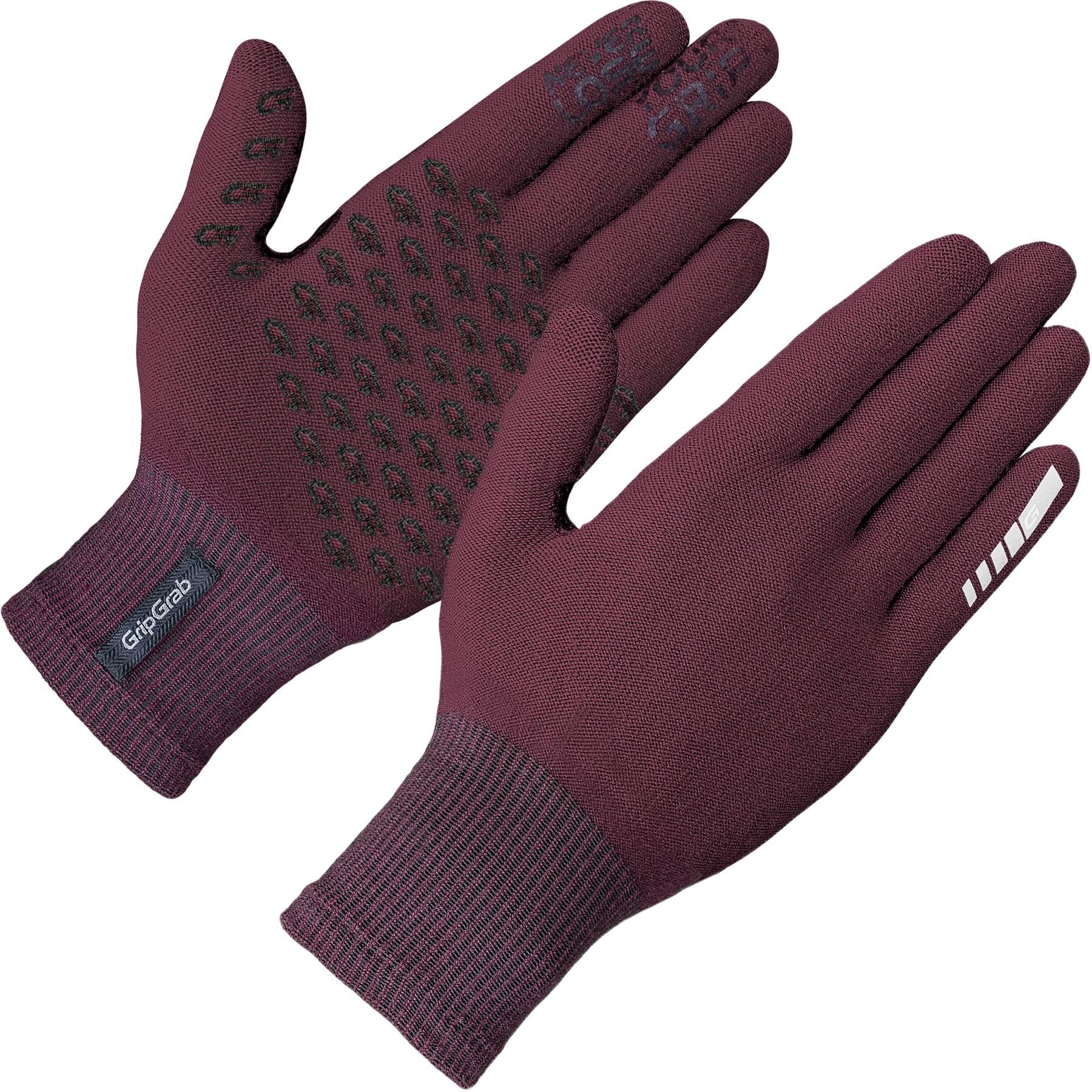 GripGrab Primavera Merino Midseason Glove II - Dark Red