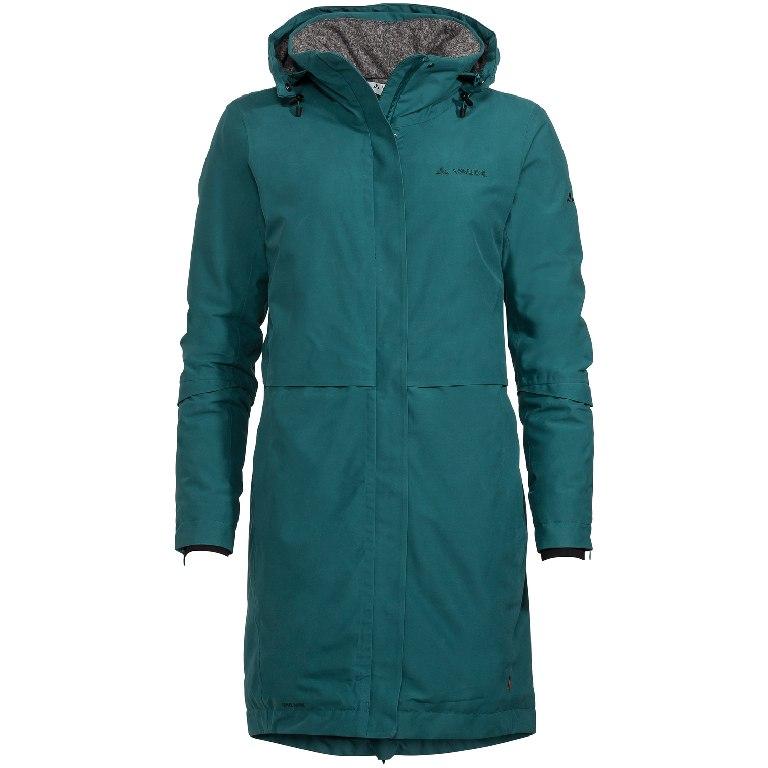 Vaude Women's Mineo Coat Damenmantel - petroleum