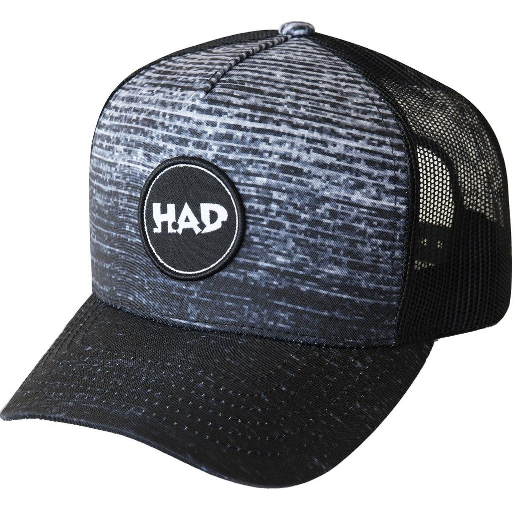 HAD Trucker Cap - Gradient Melange Black
