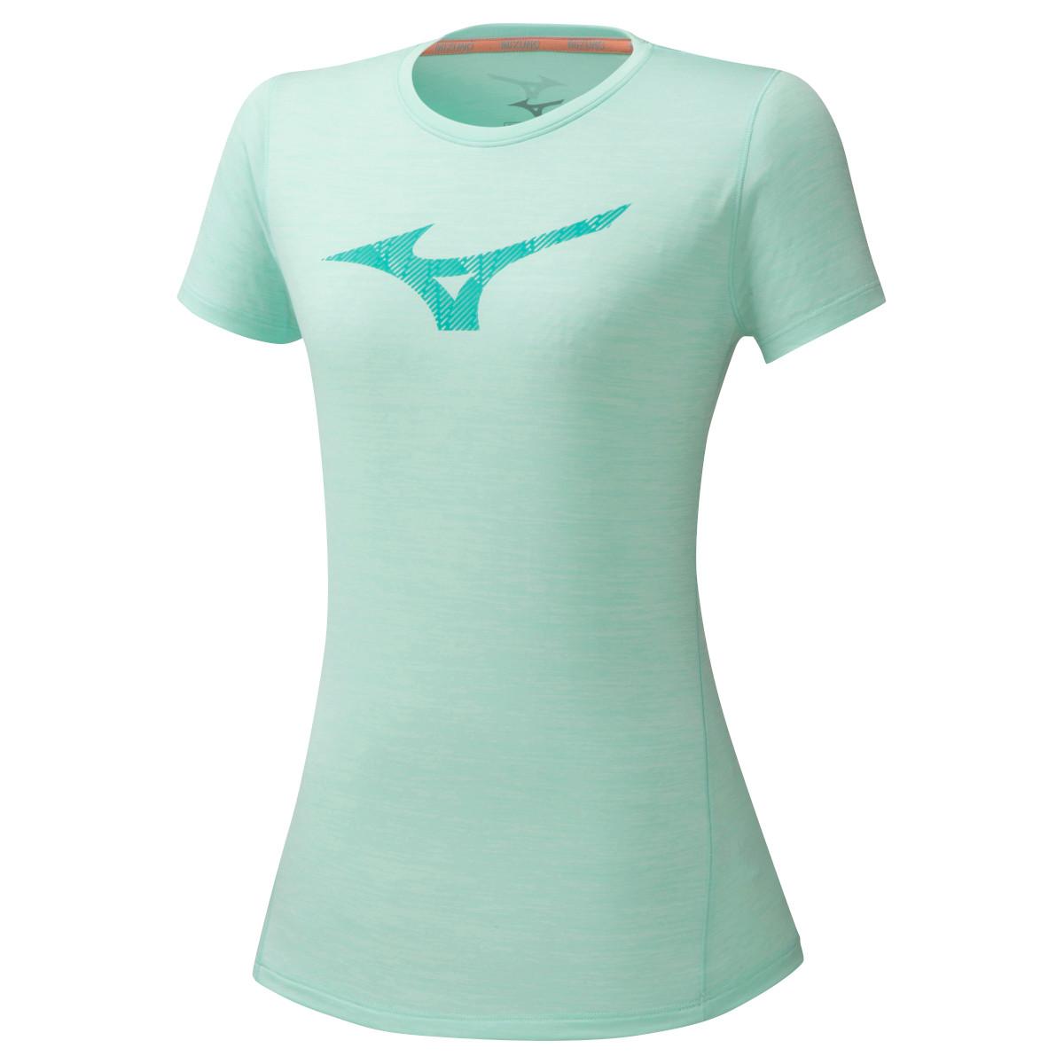 Mizuno Core Graphic RB Women's T-Shirt - Beach Glass
