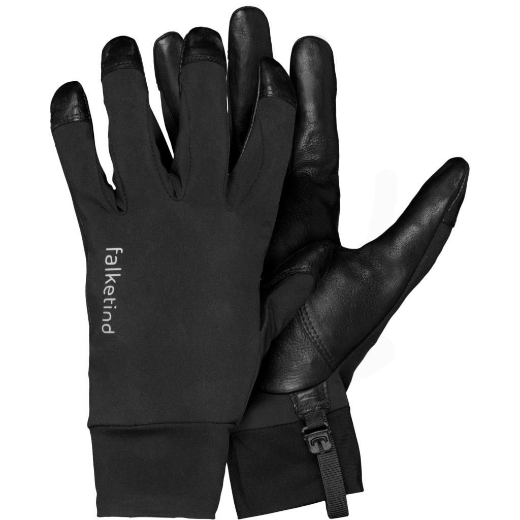Picture of Norrona falketind Windstopper short Gloves - Caviar