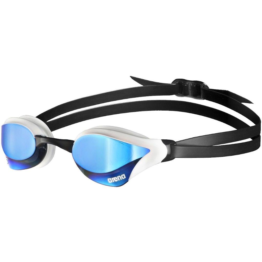 Produktbild von arena Cobra Core Swipe Mirror Blue/White Schwimmbrille