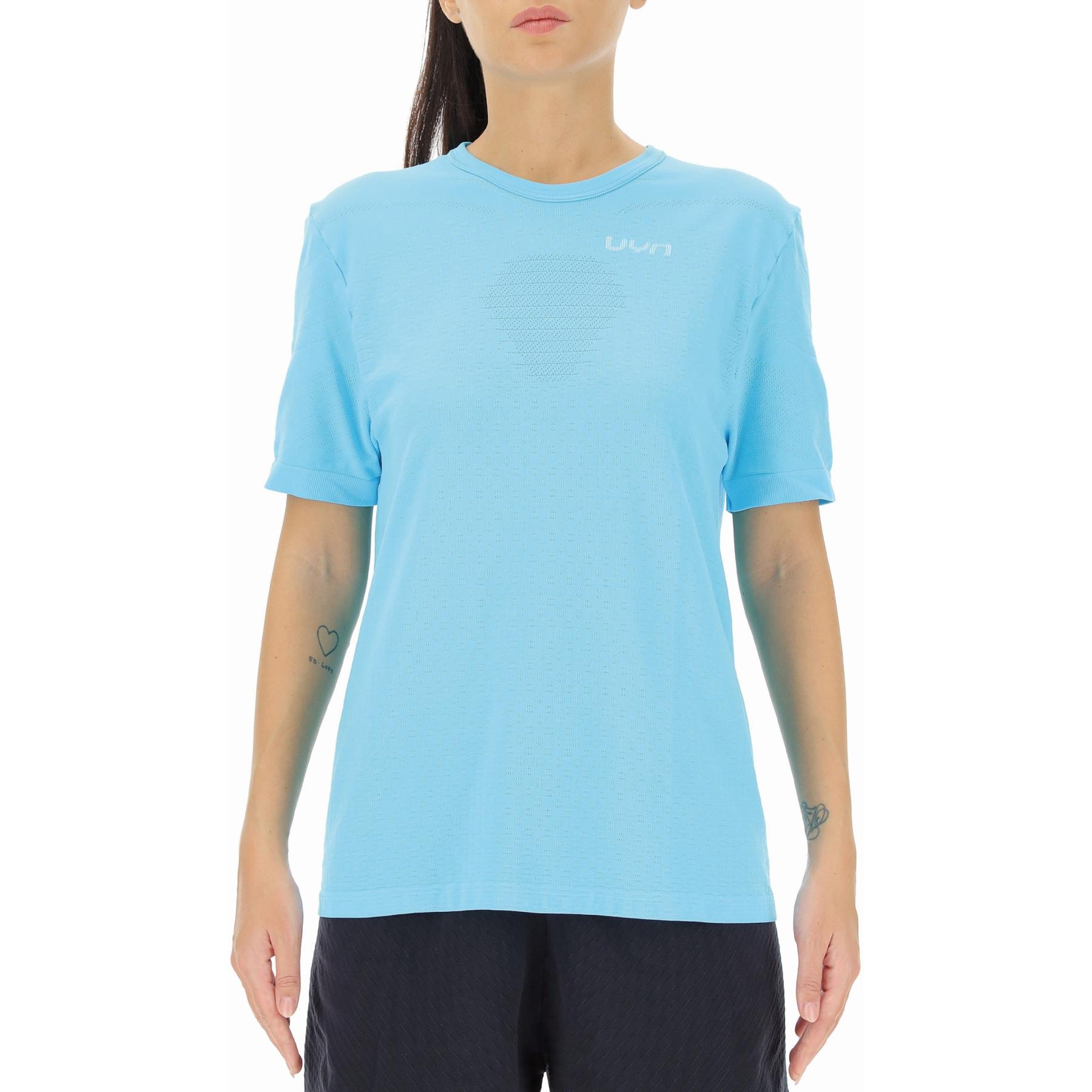UYN Running Airstream T-Shirt Women - Blue Atoll