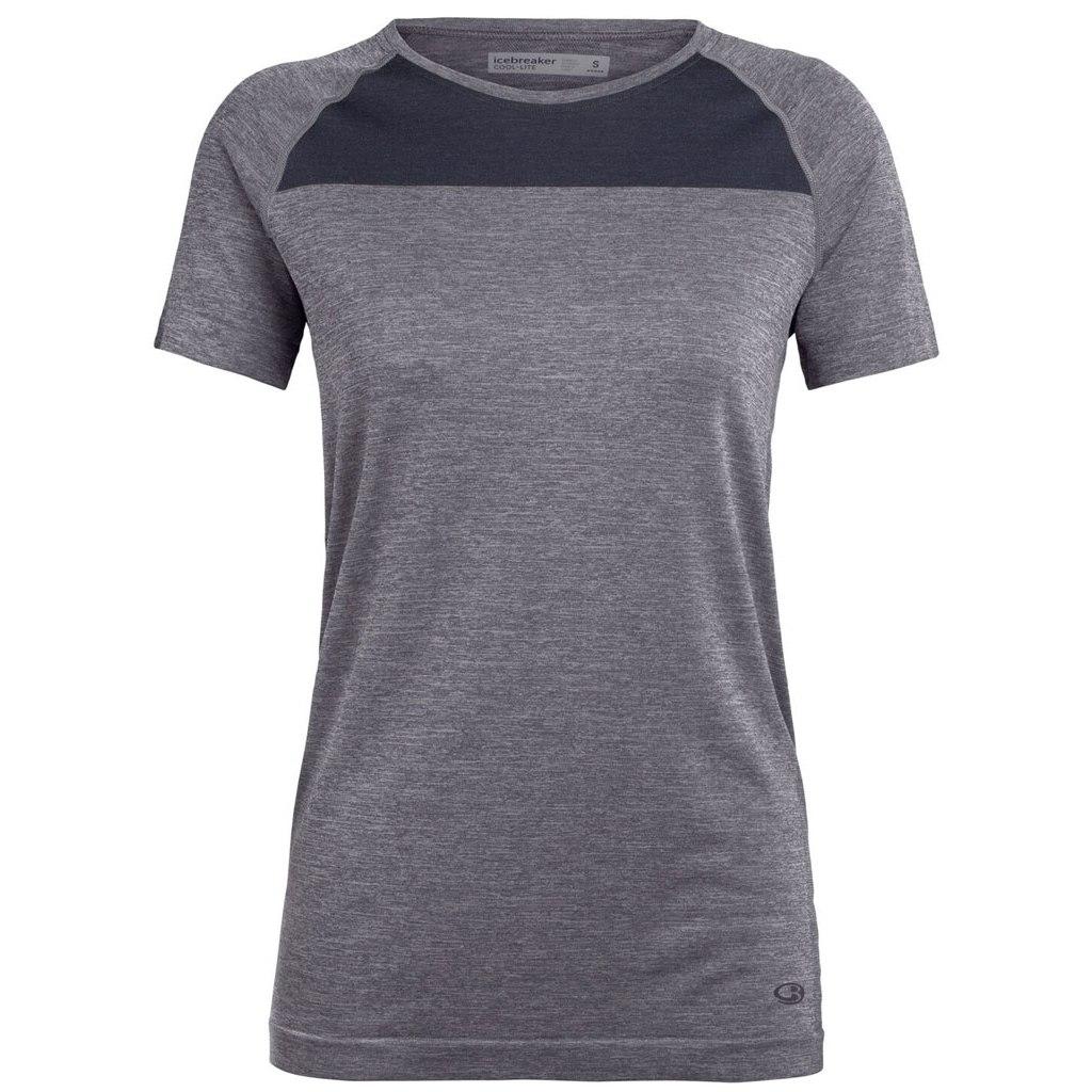 Produktbild von Icebreaker Motion Seamless Crewe Damen T-Shirt - Panther HTHR