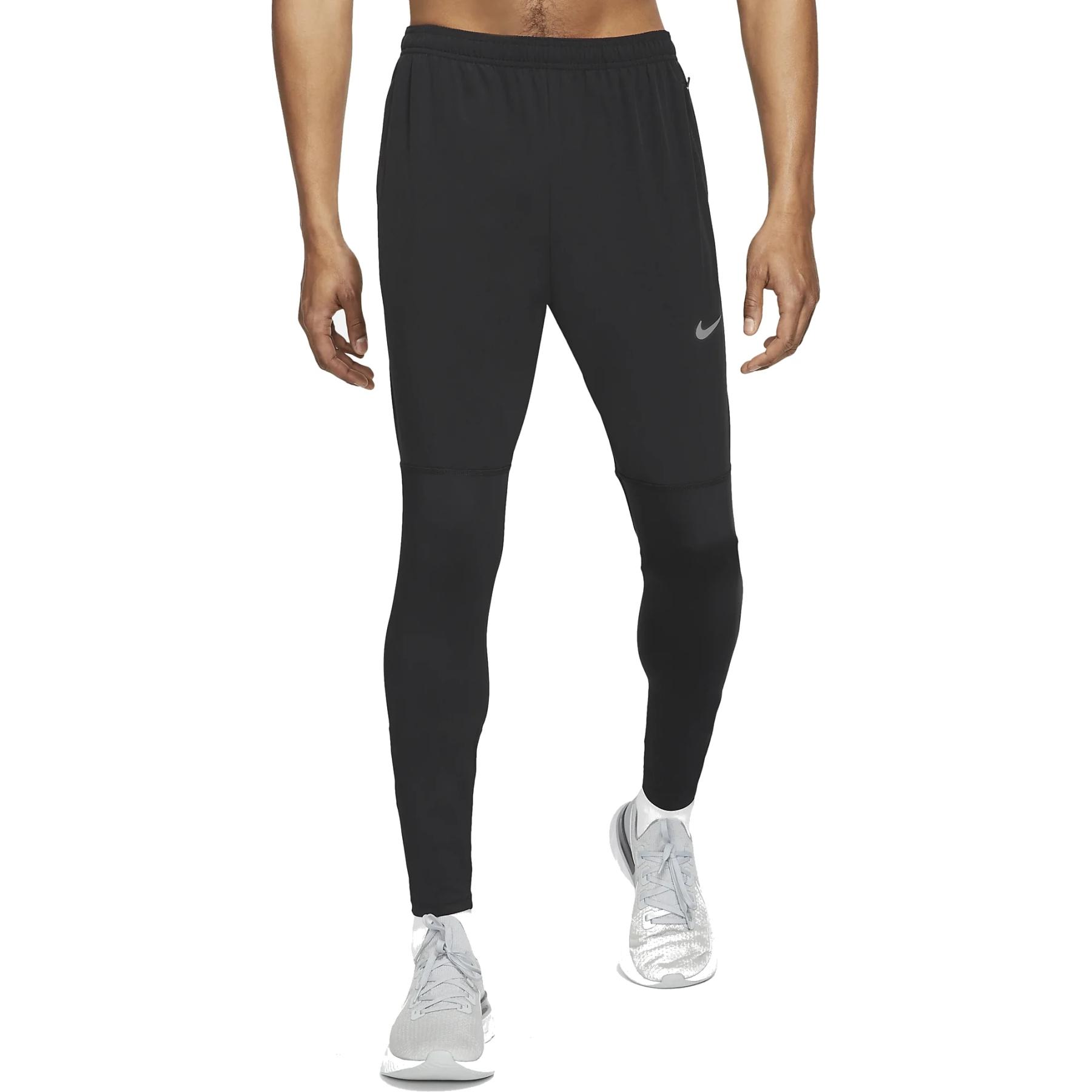 Nike Dri-Fit UV Challenger Hybrid-Laufhose aus Webmaterial für Herren - black/reflective silver DD4978-010