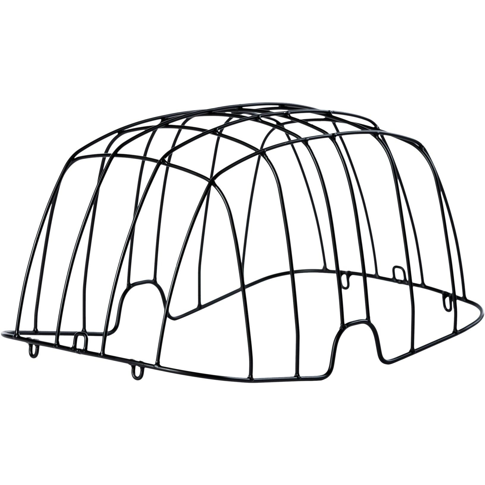 Basil Buddy Space Frame wire dome for dog bike basket Buddy - black