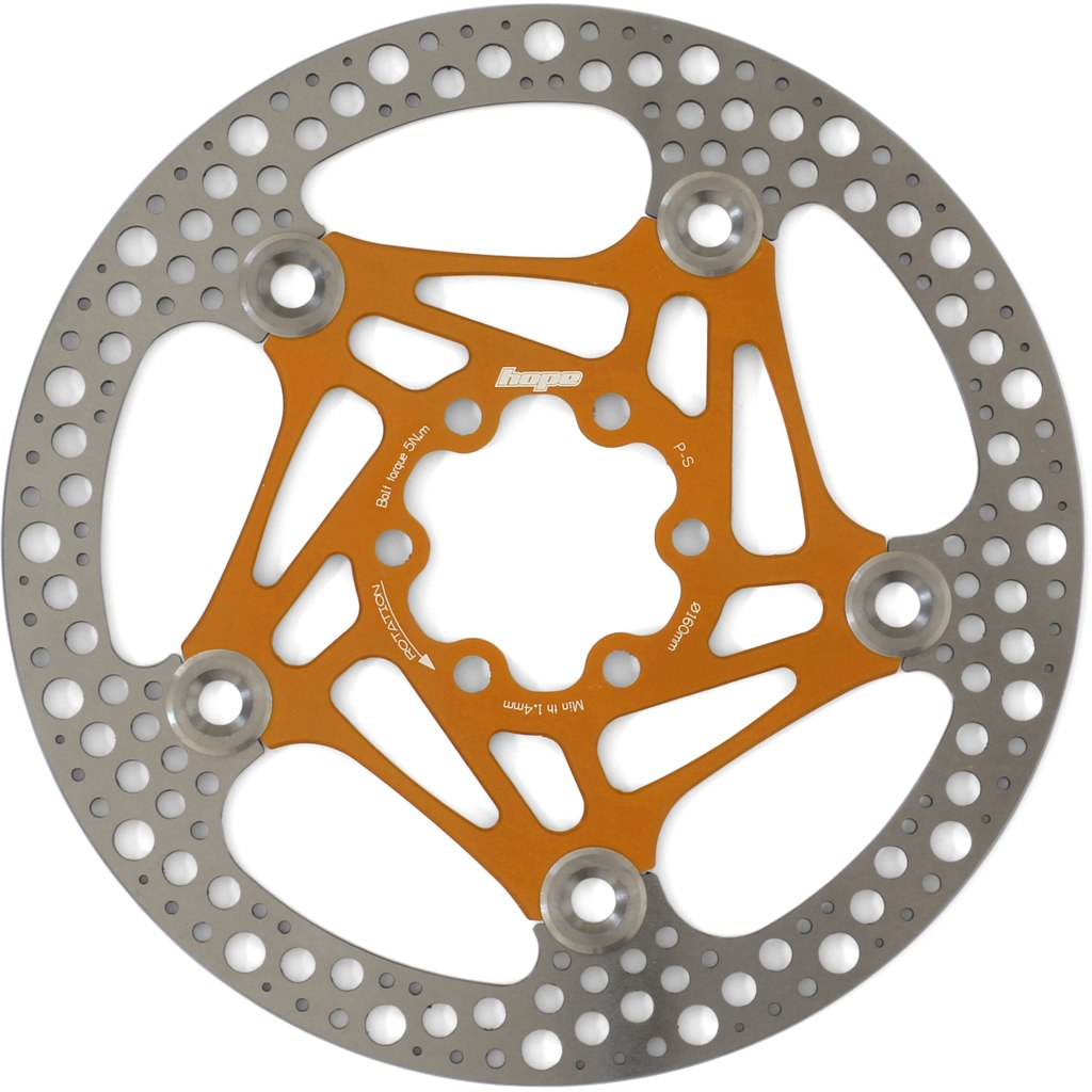 Hope Road Rotor - 160 mm - orange