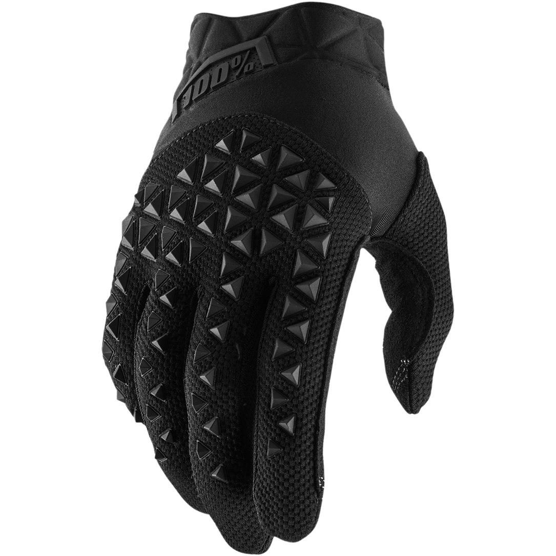 100% Airmatic Youth Glove - Black Charcoal