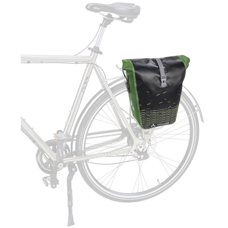 Image of Vaude Aqua Back Print Single - black/green