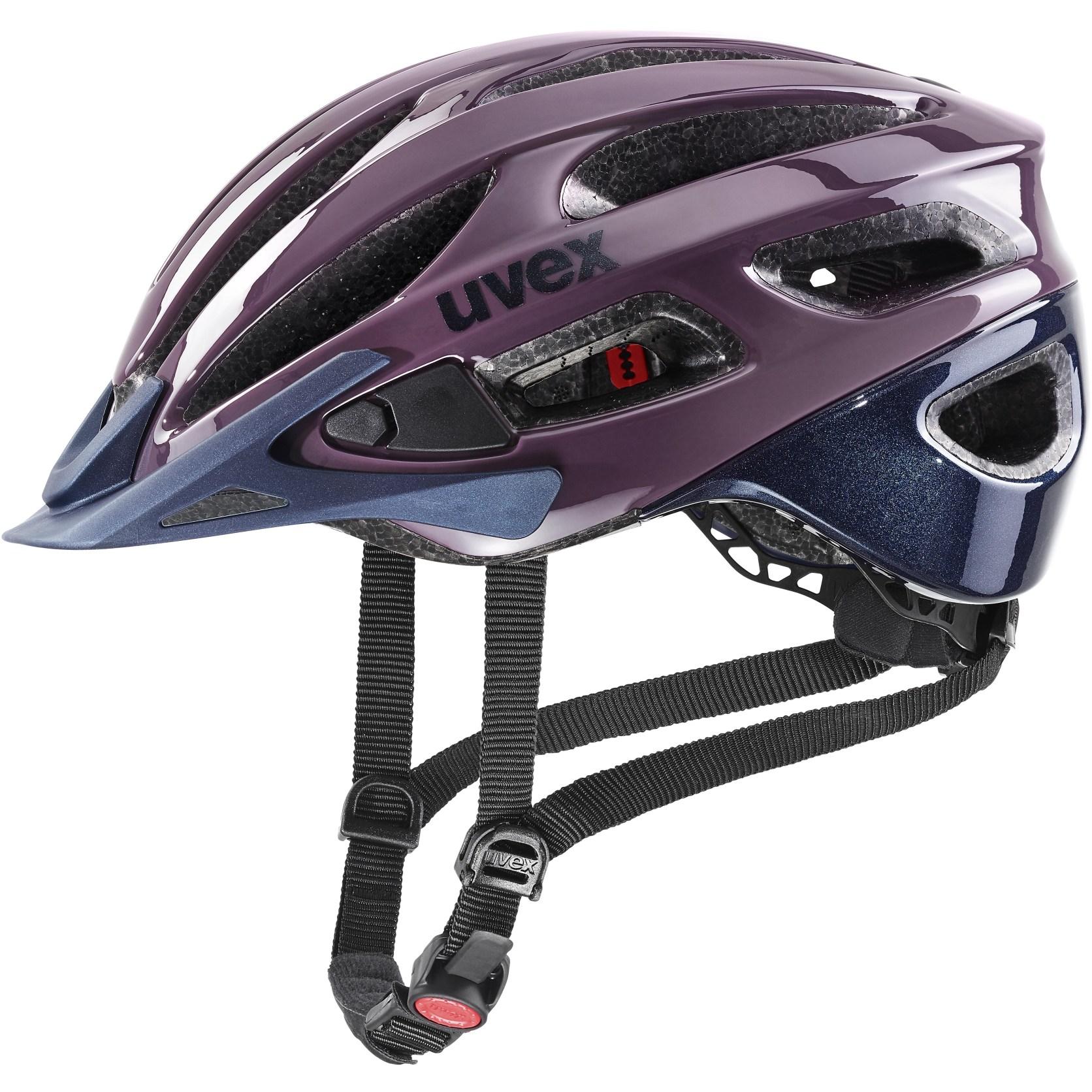 Uvex true Helm - plum-deep space