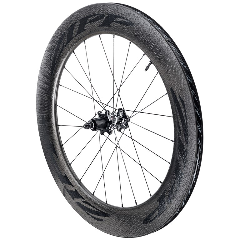 Image of ZIPP 808 Firecrest Carbon Rear Wheel - Tubeless - Clincher - 6-Bolt - 12x142mm / QR - black