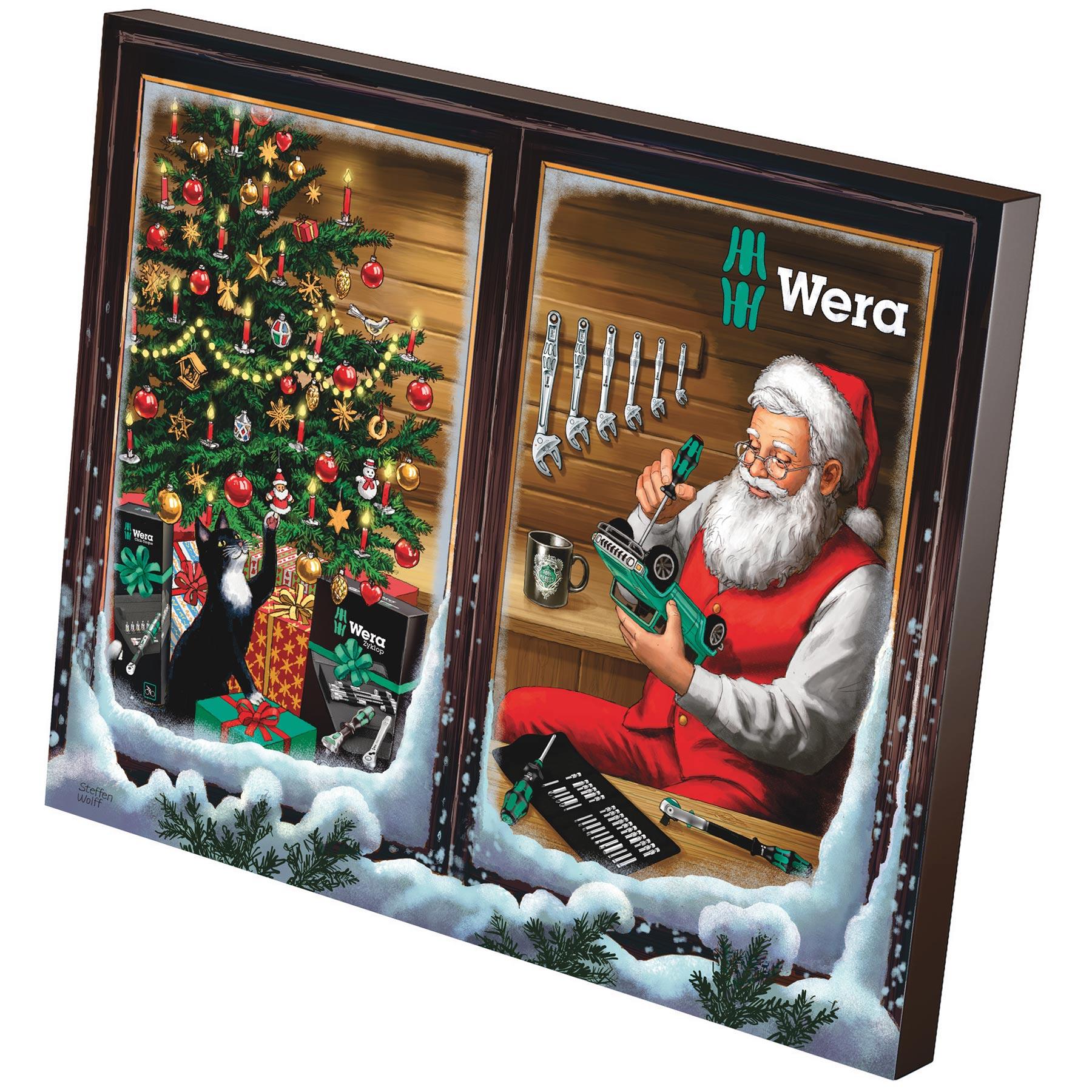 Wera Advent Calendar 2021 - Tools