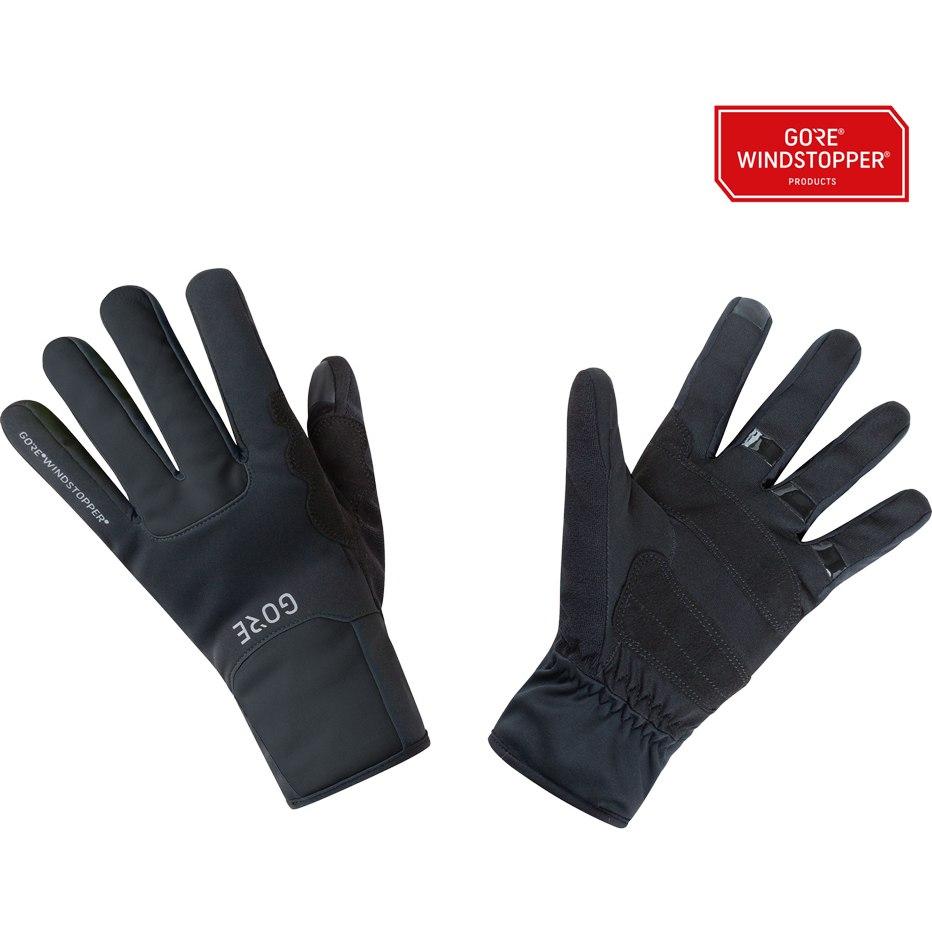 Produktbild von GORE Wear M GORE® WINDSTOPPER® Thermo Handschuhe 100491 - black 9900