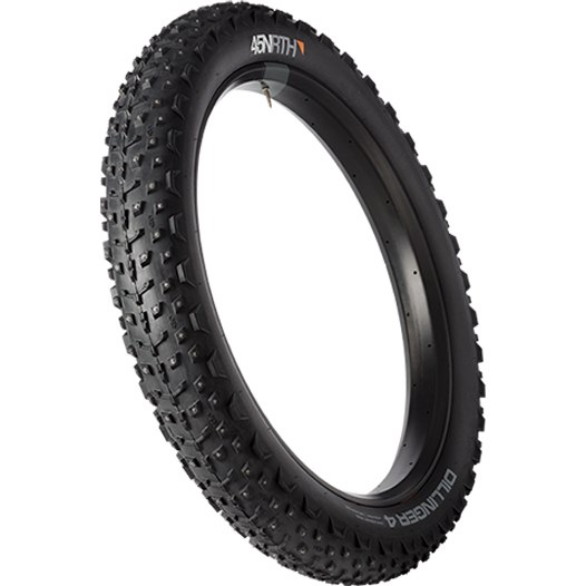 Imagen de 45NRTH Dillinger 4 Fatbike Folding Tire with 240 Studs - Tubeless Ready - 26x4.0 Inches - 120TPI