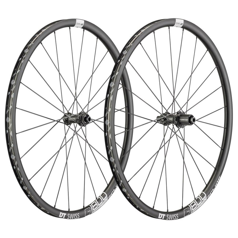 DT Swiss G 1800 Spline 25 - Wheelset - Clincher - Centerlock / 6-Bolt - FW: 12/15x100mm/QR   RW: 12x142mm/QR