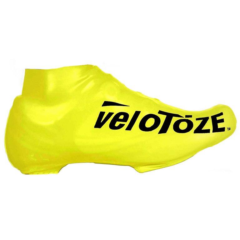 veloToze Short Shoe Cover Road - 2019 - viz-yellow