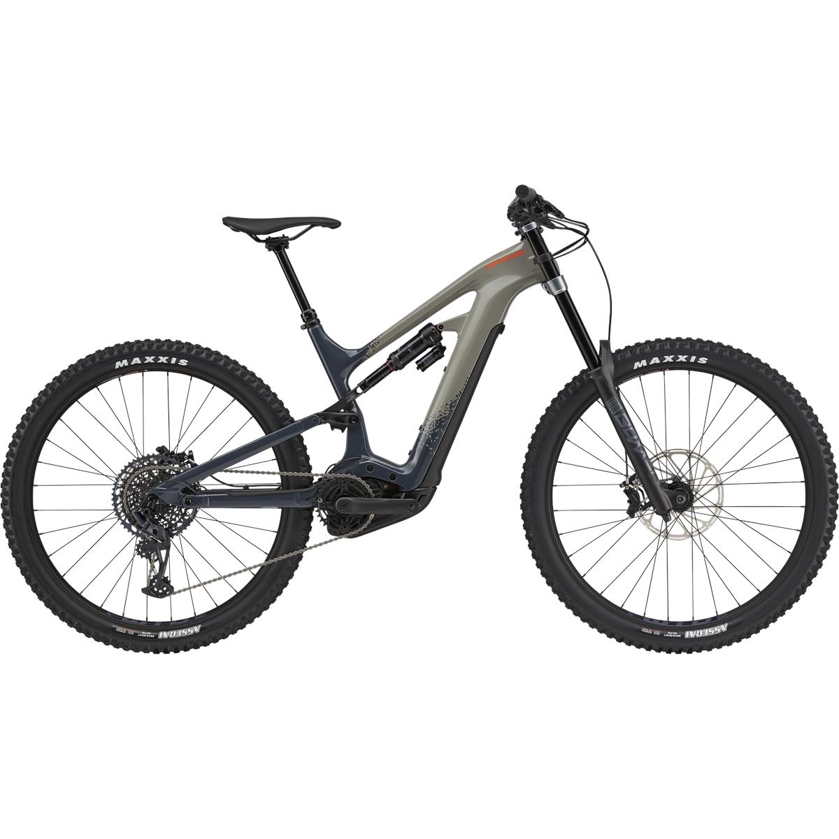 "Cannondale MOTERRA NEO Carbon SE - 29"" MTB E-Bike - 2021 - Stealth Gray"